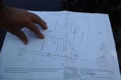 Erklärung des Planes durch den Besitzer