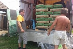 Zementlieferung