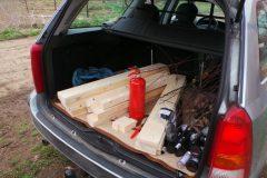 Baumaterial für Holzpaletten