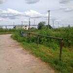 Strasse vor dem Schutzhof