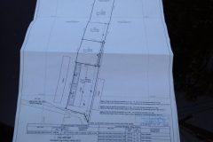 Grundstück und Gebäudeplan